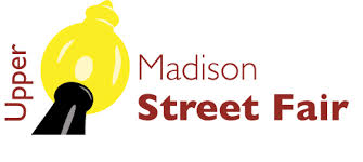Upper Madison Street Fair Logo